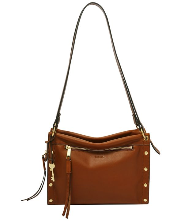 Fossil Allie Leather Satchel