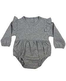 Flutter Sleeve Baby Girl and Boy Bodysuit