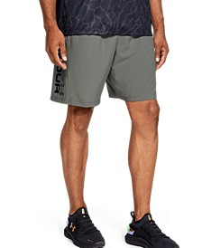 "Men's Woven Graphic Wordmark 8"" Shorts"