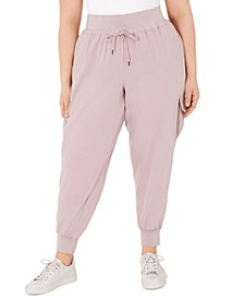 Plus Size Cargo Jogger Pants, Created For Macy's