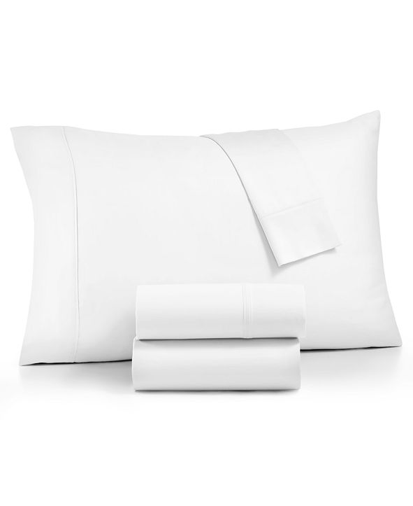 AQ Textiles CLOSEOUT! Linden 900-Thread Count Percale 4-Pc. Queen Sheet Set