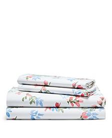 Maggie Floral King Sheet Set