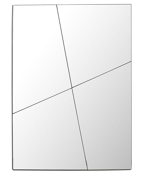 Cenports Contemporary Frameless Mirror