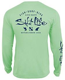 Men's Watermans UPF Performance Graphic Long Sleeve T-Shirt