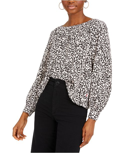 Levi's Lily Geo-Print Woven Top