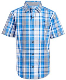 Big Boys Madras Plaid Shirt