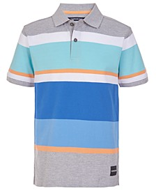 Big Boys Stripe Polo Shirt