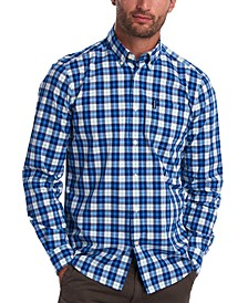Men's Tailored-Fit Highland Check 28 Shirt