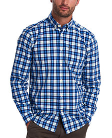 Barbour Men's Tailored-Fit Highland Check 28 Shirt