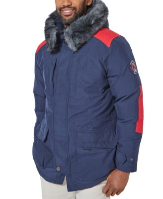 Nautica Mens Puffer Jacket With Tempasphere