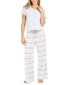 Women's Striped Pajama Pants