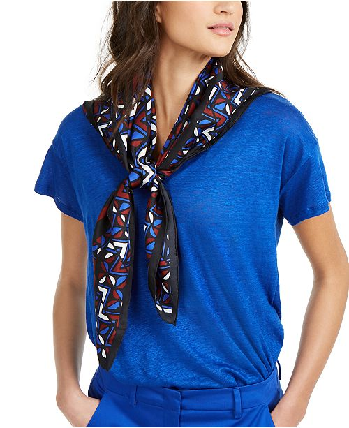 Weekend Max Mara Silk Printed Scarf