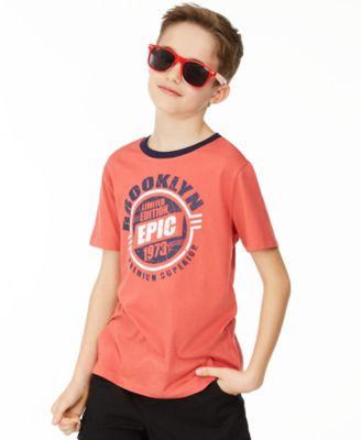 Big Boys Brooklyn T-Shirt, Created for Macy's