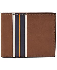 Men's Hans Flip ID Colorblocked Leather Wallet