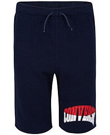 Big Boys Collegiate Colorblocked Logo Shorts