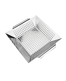 Heavy Duty Stainless Steel Grilling Basket