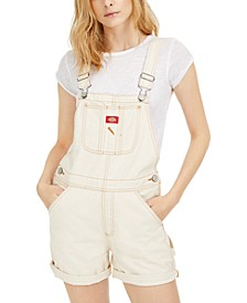 Juniors' Rolled-Cuff Shortalls