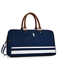 Receive a Complimentary Duffel Bag with any $95 purchase from the Ralph Lauren Polo Blue fragrance collection