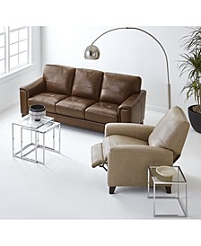 Brayna Leather Sofa Collection, Created for Macy's