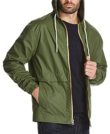 Men's Solid Rain Jacket