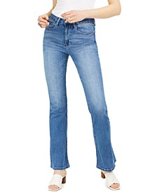 Faded Flare Jeans