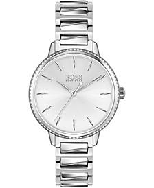 Women's Signature Stainless Steel Bracelet Watch 34mm