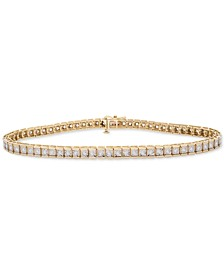 Diamond Tennis Bracelet (1 ct. t.w.) in 10k Yellow Gold