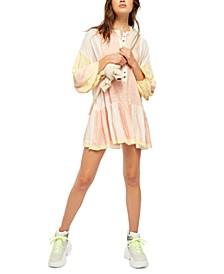 Shibori Mini Dress