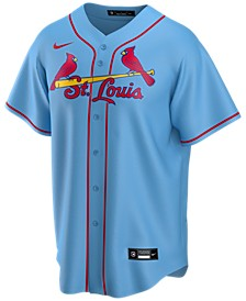 Men's St. Louis Cardinals Official Blank Replica Jersey