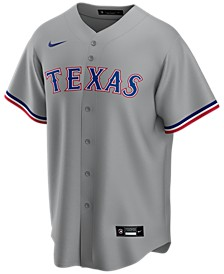 Men's Texas Rangers Official Blank Replica Jersey