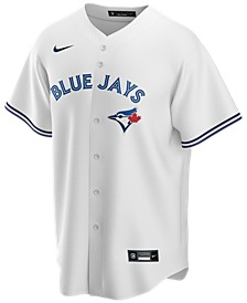 Men's Toronto Blue Jays Official Blank Replica Jersey