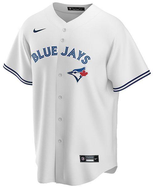 Nike Men's Toronto Blue Jays Official Blank Replica Jersey