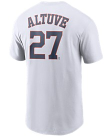 Men's Jose Altuve Houston Astros Name and Number Player T-Shirt