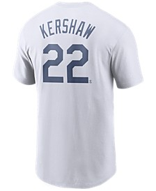 Men's Clayton Kershaw Los Angeles Dodgers Name and Number Player T-Shirt