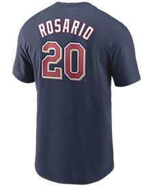 Men's Eddie Rosario Minnesota Twins Name and Number Player T-Shirt