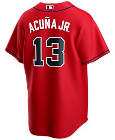 Men's Ronald Acuna Atlanta Braves Official Player Replica Jersey