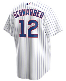Men's Kyle Schwarber Chicago Cubs Official Player Replica Jersey