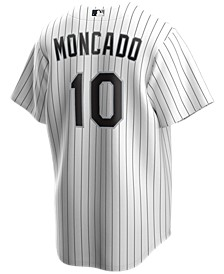 Men's Yoan Moncada Chicago White Sox Official Player Replica Jersey