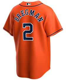 Men's Alex Bregman Houston Astros Official Player Replica Jersey