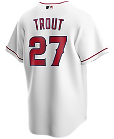 Men's Mike Trout Los Angeles Angels Official Player Replica Jersey