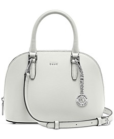 Bryant Leather Dome Satchel, Created for Macy's