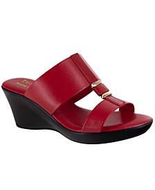 Tuscany by Benita Wedge Sandals