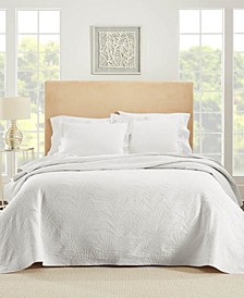 Ella European Matalasse Coverlet Set King