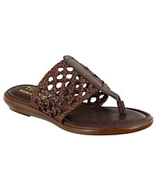 Tuscany by Easy Street Carlina Thong Sandals