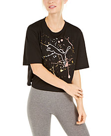 Puma Women's Metal Splash dryCELL Graphic T-Shirt
