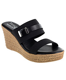 Tuscany by Easy Street Esta Wedge Sandals