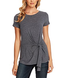 Serene Stripe Side-Tie Top
