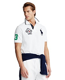 Men's Custom Slim-Fit Mesh Polo