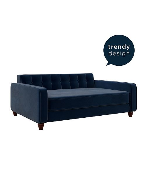 Ollie & Hutch Pin Tufted Large Pet Sofa