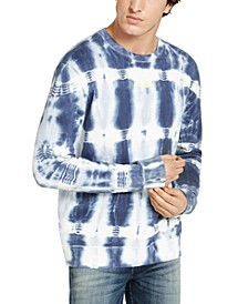 Men's Oversized Tie Dye Long-Sleeve T-Shirt